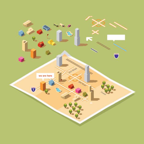 Banner - Real Estate market concept
